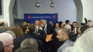 Grand succès pour la visite de Laurent Wauquiez à Lyon