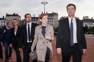 NKM à Lyon pour soutenir Michel Havard et les lyonnais en colère contre la politique de la gauche [video].