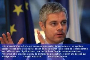 Laurent Wauquiez dans Direct Bourdin suite à son soutien à la candidature de Sarkozy à l'UMP