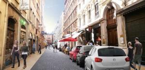 Une rue Ferrandière plus belle.