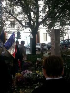 Cérémonie du 11 novembre à Perrache