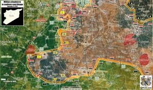 Évolutions majeurs sur le terrain syrien en faveur de Assad… Et de Poutine