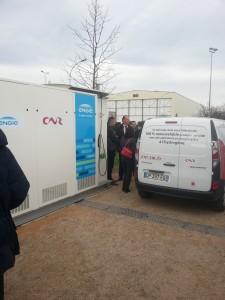 Lancement d'une station pour les véhicules à hydrogène à Lyon